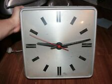 Vintage Simplex Electronic Slave Wall Clock Industrial Steampunk Schoolhouse