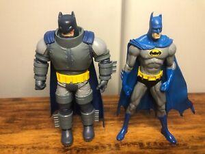 "The Dark Knight Returns Armored Batman DC Comics Multiverse 6"" & Vintage Batman"