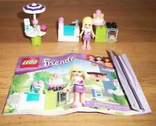 USED 2012 LEGO Friends Stephanie's Outdoor Bakery (3930) - COMPLETE