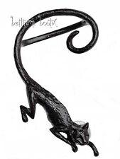 Goth : Alchemy Boucle d' Oreille Unique Chat Noir Cat Sith Single Gothique