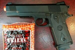Best Quality Full Metal Spring Airsoft Gun Pistol With FREE 3000 BB'S BULLETS