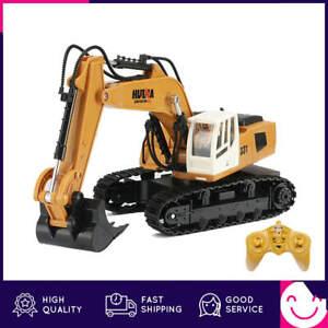 1:16 RC Truck Caterpillar Alloy Tractor Model Engineering Car 2.4G Radio Control
