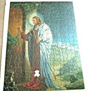 VINTAGE TUCO DELUXE PICTURE PUZZLE RELIGIOUS JESUS 300 TO 500 PIECES -1 piece