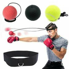 3-Ball Fight Ball Reflex Boxing Trainer Boxer Speed Punch Exercise W/ Head Strap