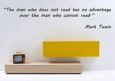 Vinyl Wall Decal Sticker Room Decor Saings Quotes Inspiring Mark Twain F2014