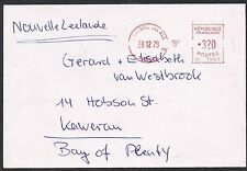 France 1979. Cover to New Zealand. Meter stamp 3f.20.