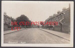 SE18 London - PLUMSTEAD Chestnut Rise - Real Photo Postcard