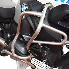 Sturzbügelerweiterung BMW R1200GS LC ADV, Zusatzschutzbügel, Edelstahl, silber