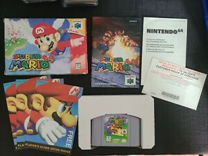 Super Mario 64 Nintendo 64 N64 CIB Complete in box! Works!! Proof of Purchase!