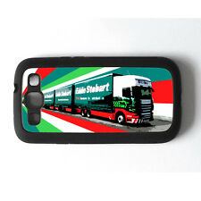 Eddie Stobart Haulage Samsung Galaxy S3 Rigid Rubber Mobile Phone Case