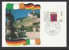 IRELAND # 748 MARTYRDOM OF THE FRANCONIAN APOSTLES #7 1989 Postal Card