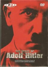 THE STORY OF ADOLF HITLER & HITLER IN HIS OWN WORDS - 3 DVD BOX SET
