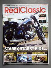 R&L Mag: Real Classic November 2008 Invacar/Vincent Comet/BSA Star Twin/Harley
