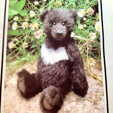 Bear Making . Teddy Bear Sewing Pattern For MoonBear. Jointed. Alpaca Or Mohair.