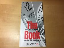 Catalogue SWATCH The Livre - Collection 1998 Automne - Hiver - English