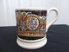 Emma Bridgewater Great Fire of London 1666 1/2 Pint Mug New Unused Discontinued