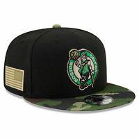Boston Celtics New Era NBA All-Star Camo 9FIFTY Snapback Hat - Black