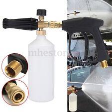 Snow Foam Lance Spray Cannon Blaster 1000ML + Pressure Washer Gun For Karcher HD