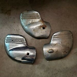 1940 Ford Deluxe Standard Bumper Tips Wings Extension Lot Flathead Hot Rod Rat
