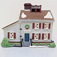 Retired Dept 56 1995 New England Village, Jeremiah Brewster House Used in Box