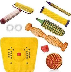 Acupressure Tools Acupressure Kit Foot Massager Acupressure Roller Mat For Feet
