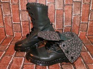 Dr. Martens TRIUMPH AIMILIE fold down leather biker boots uk 7 eu 41 us 9 Doc#38