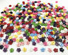 Mini Flowers Resin Buttons sewing scrapbooking Mixed Colors 7mm