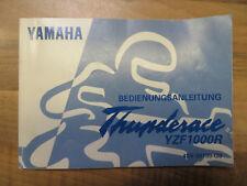 Yamaha YZF 1000 R Thunderace Bedienungsanleitung