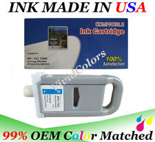 Cartridge fit canon PFI-703 Cyan  Ink iPF 810 815 820 825 imagePROGRAF ink tank
