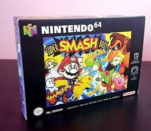 Boite Repro Super Smash Bros 64 N64 avec cale intérieure