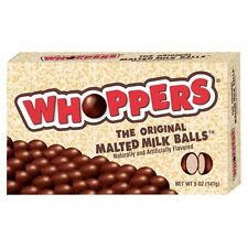 2X NEW SEALED WHOPPERS MALTED MILK BALLS 5 OZ FREE WORLDWIDE SHIPPING