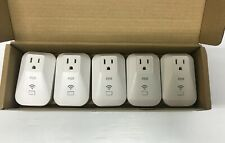 Five (5) Pack WiFi Smart Plug Remote Control Adapter Kmc 70011We