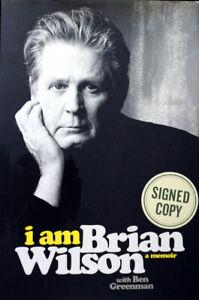 BRIAN WILSON I AM+SIGNED+BOOK+BEACH BOYS+PET SOUNDS=100% GENUINE+FAST WORLD SHIP