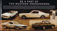 2002 Ford MUSTANG / FOCUS / ZX-2 Brochure / Pamphlet w/ Color Charts: GT, NOS!