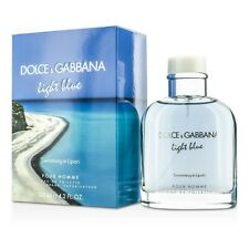 Dolce & Gabbana Light Blue Swimming In Lipari Eau De Toilette Spray 125ml Mens