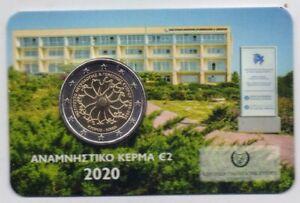 2€ BU Chypre 2020 30 ans l'institut de Neurologie Génétique NUMEROTE DESTOCKAGE