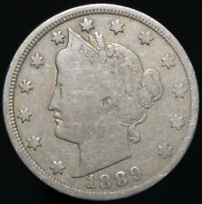 More details for 1889 | u.s.a. liberty v nickel 5 cents | cupro-nickel | coins | km coins
