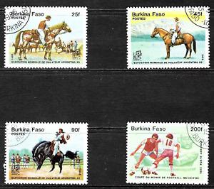 Burkina Faso .. Super Stamps .. 3982