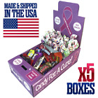 5 New Vending Route Display Honor Boxes Sells Candy & Lollipops Donation Charity