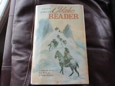 Idaho Reader - Grace Jordan - 1963 Syms-York 1st - HB DJ - Newell Signed Copy 3