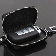 Unisex PU Leather Car Key Wallets Zipper Key Bag Purse Holder Organizer Covers