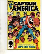 Captain America #299(1984 Marvel)RED SKULL/BARON ZEMO -FN/VF