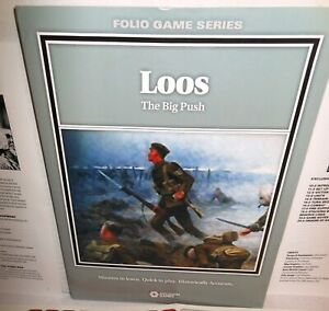 BOARD WAR GAME Decision Games Folio LOOS The Big Push WW1 ip 2012 @$25