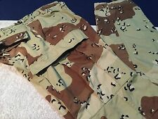 USMC DESERT PATTERN CAMOFLAUGE Trousers Size SMALL-X-Long 8415-01-140-5462