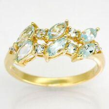 Handmade Blue Topaz Fine Rings