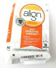 Align Probiotics - 24/7 Digestive Support - 56ct capsules - 07/19+ Box Damaged