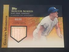 Roger Maris 2012 Topps Gold Sparkle Game Used Bat #64/99 Yankees