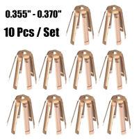 10 Pcs Golf Brass Adaptor Shims Accessories For Iron Steel Shaft