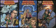 Battlestar Galactica The Enemy Within Comic Set 1 2 3 Lot Cylon Raider Viper NEW