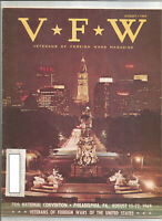 "VFW Magazine August 1969 - Cheers for the Valiant, ""Welcome U.S. Army,"" more"
